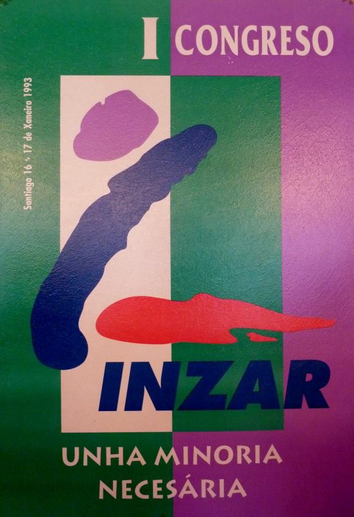 Cartaz do primeiro congreso de Inzar