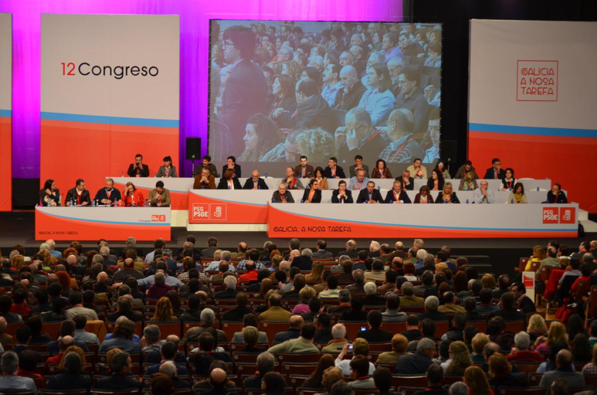 Plenario do Congreso Nacional do PSdeG