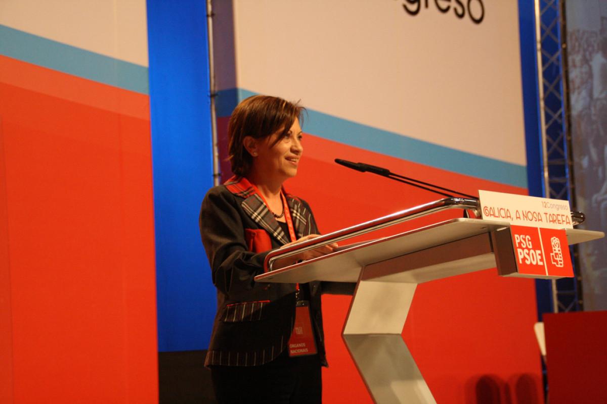 Elena Espinosa intervén ante o Congreso do PSdeG