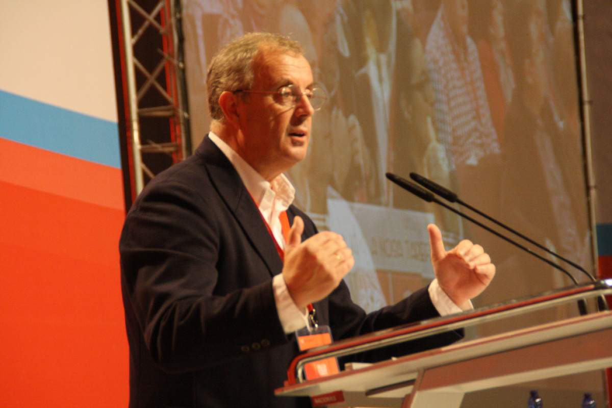 Vázquez intervén ante o Congreso Nacional