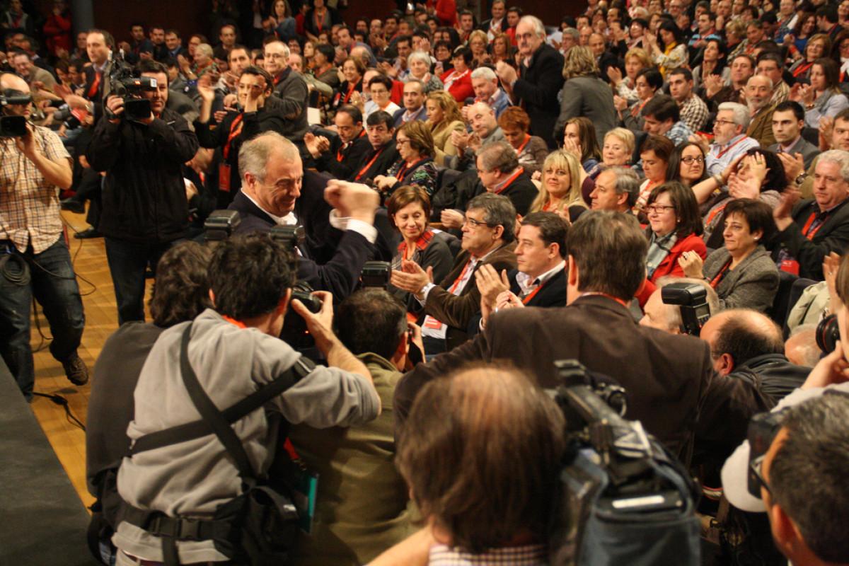 Vázquez celebra a vitoria