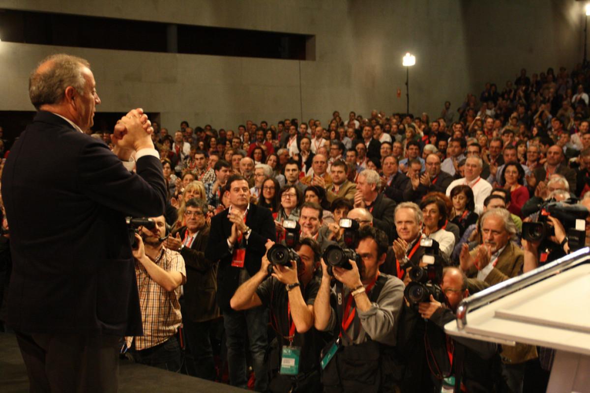 Pachi Vázquez, tras coñecer os resultados das votacións