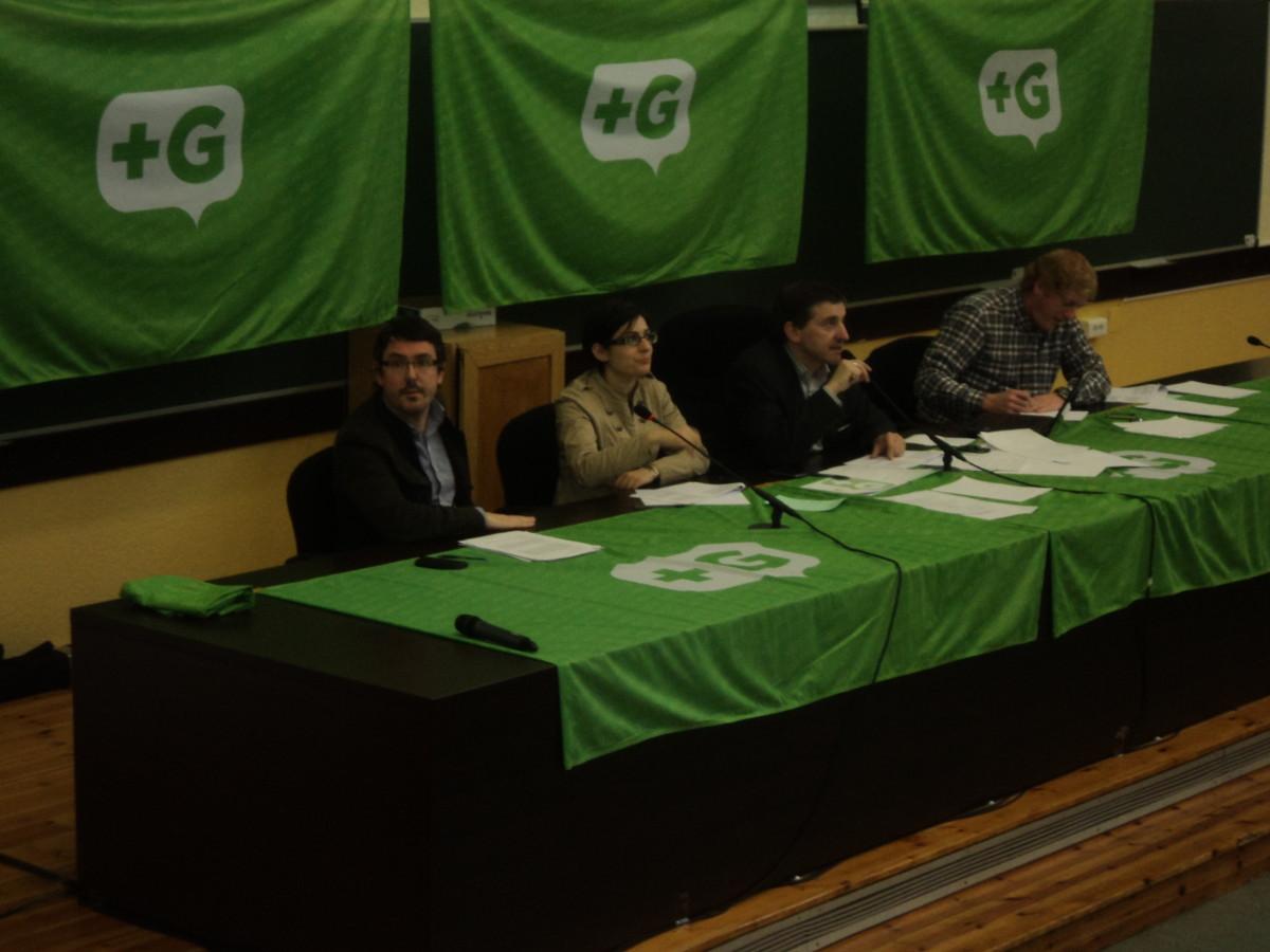 A mesa do congreso de +G