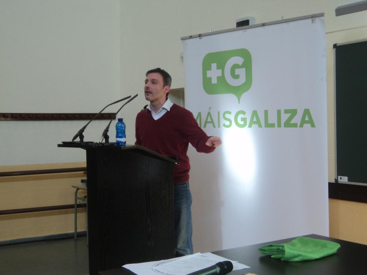 Xoán Bascuas intervén ante o plenario