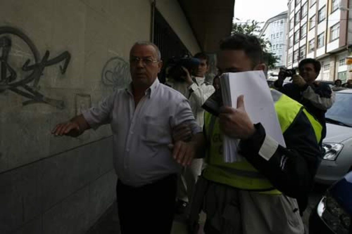 Foi detido Bernardo Bastida, patrón maior da Confraría de Ferrol