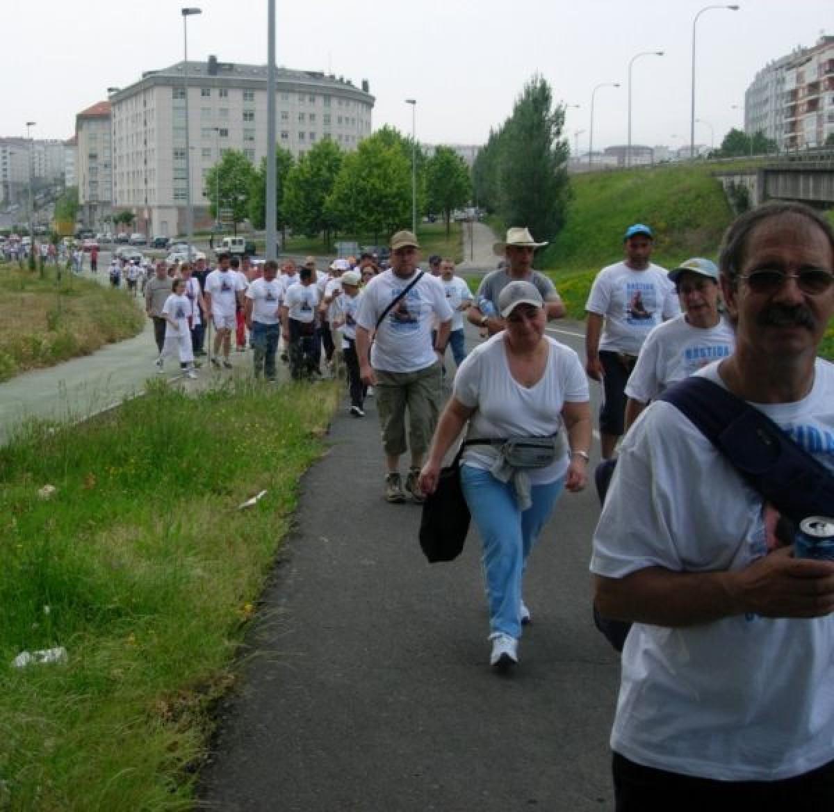Nas semanas seguintes unha marcha a pé até Teixeiro reclamou a liberación de Bastida