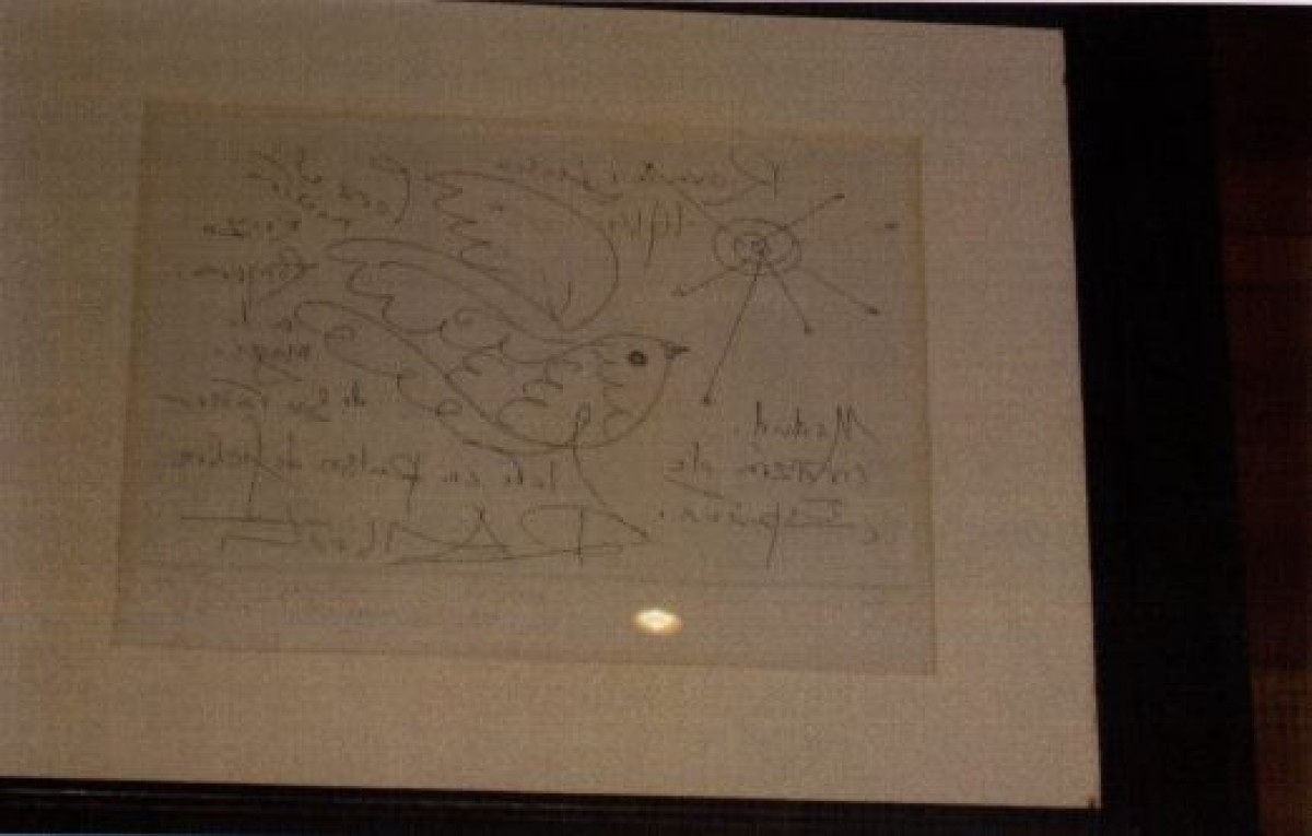 Debuxo de Rafael Alberti, 5.000 €