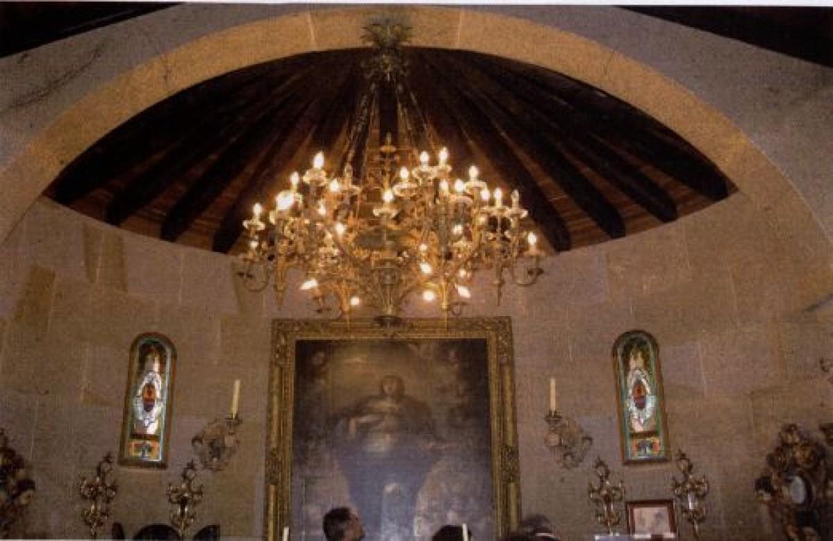 Lámpada de 8.000 € na casa de Dorribo