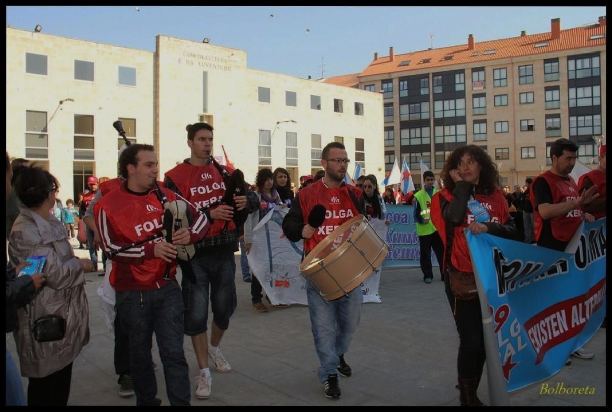 Manifestación da CIG en Xinzo de Limia