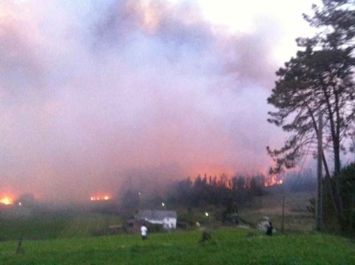 O lume, perto das vivendas