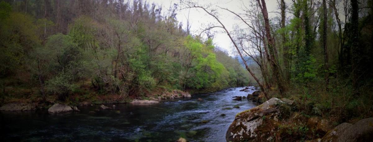 O río, centro de atención tras o lume
