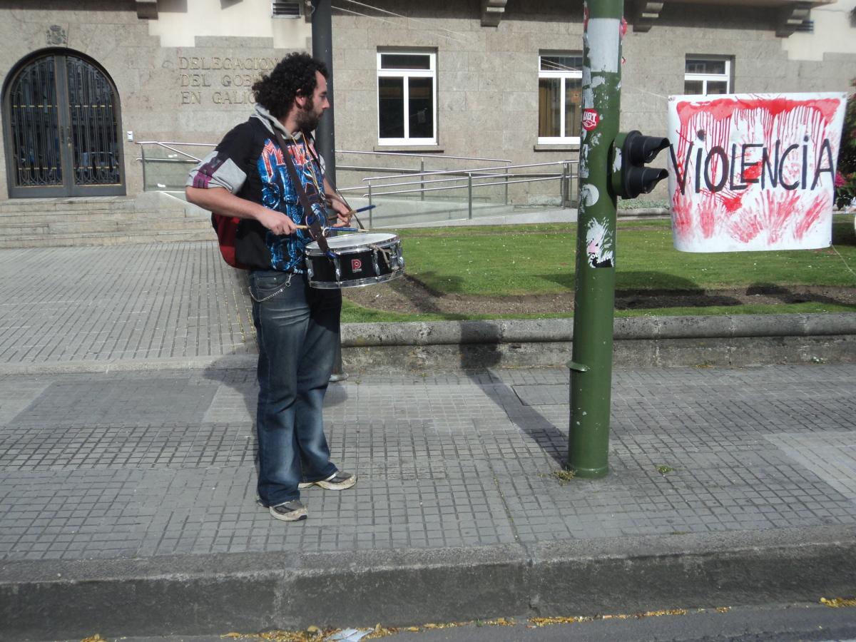 Percusión contra a violencia