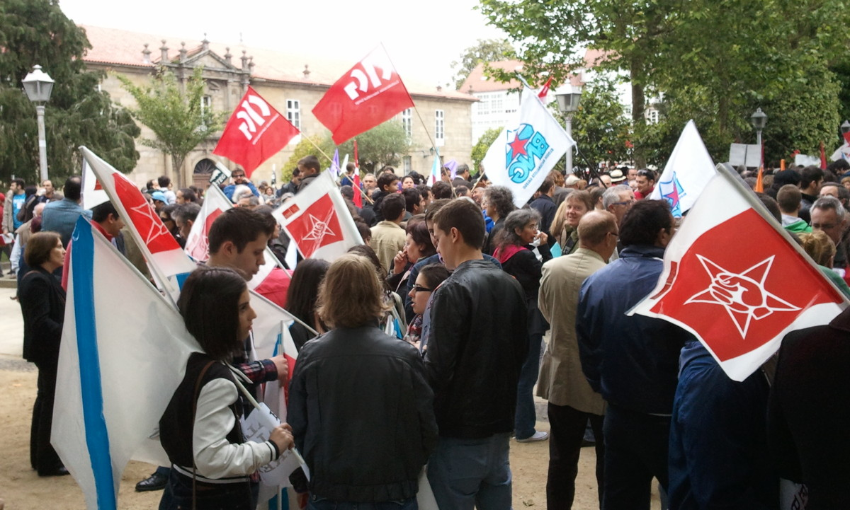 Socialistas e nacionalistas, na Alameda