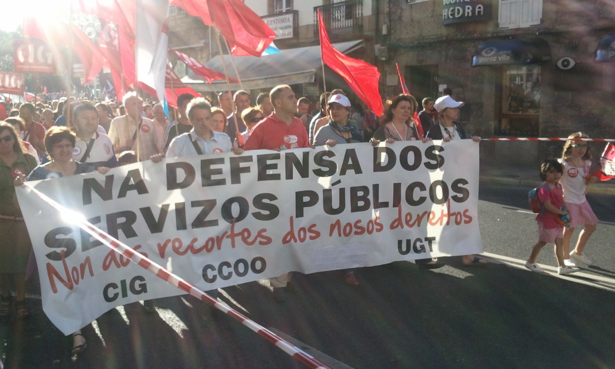 Defensa unitaria dos servizos públicos