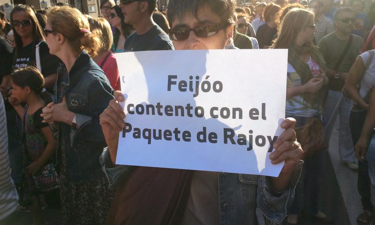 'Lembranza' a Rajoy e Feijóo