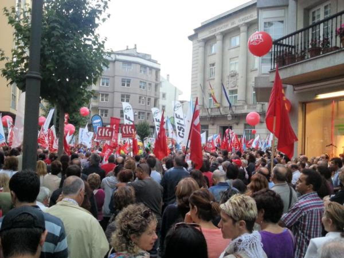 A praza de Armanyá quedou pequena en Lugo