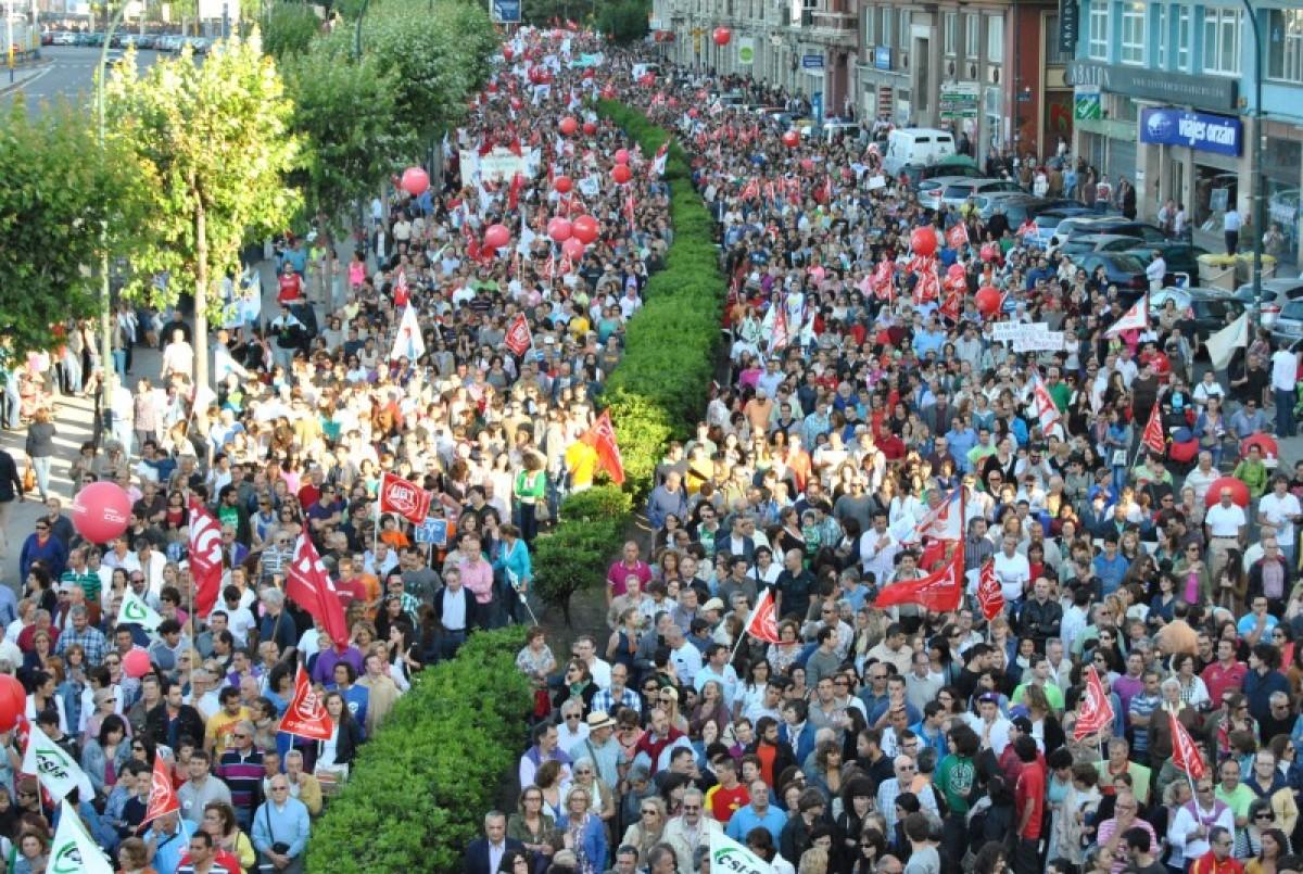 Multitude na Coruña