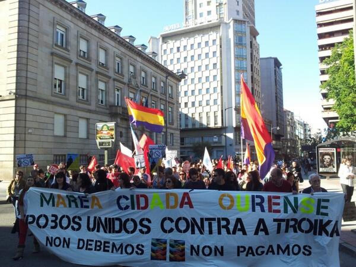 Manifestación de Ourense