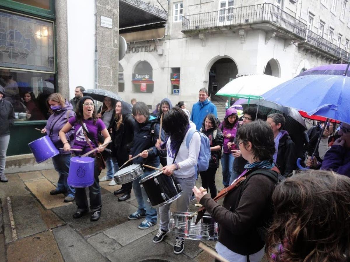 Manifestación polo dereito ao aborto, o pasado ano