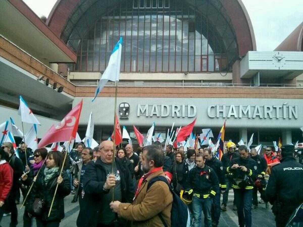O tren galego sae á rúa