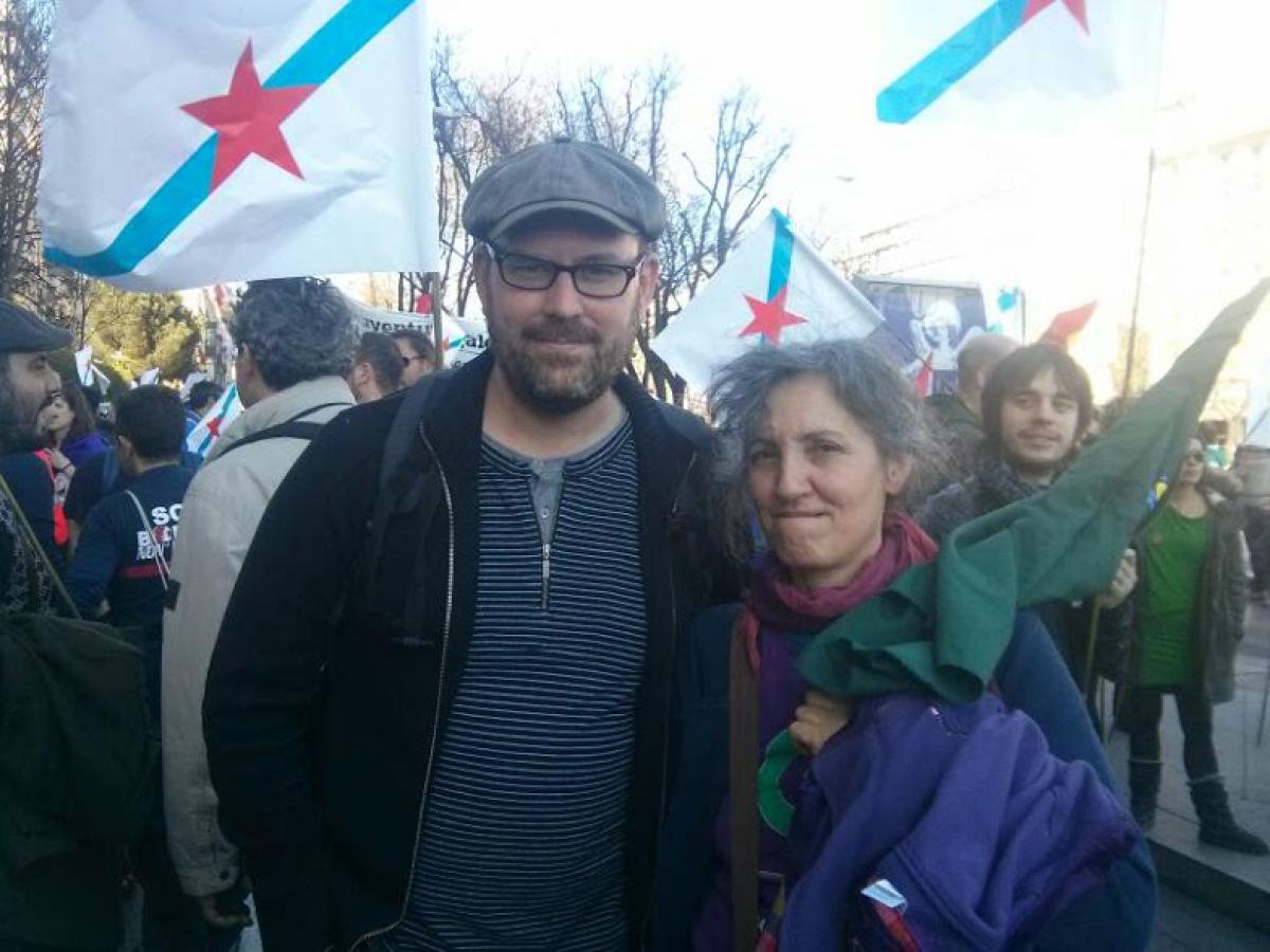 Martiño Noriega e Lidia Senra