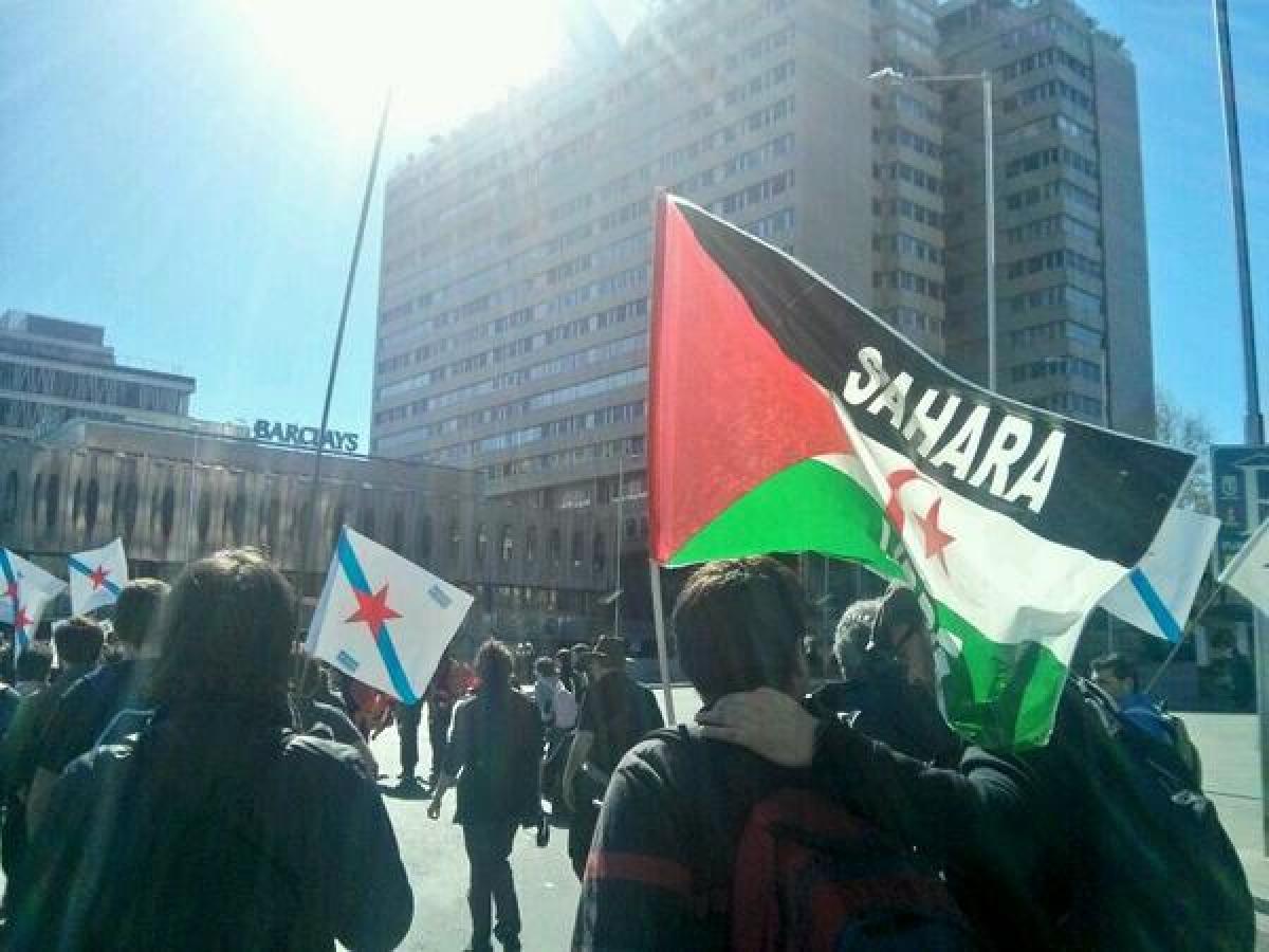 Pola liberdade do Sáhara dende a columna galega