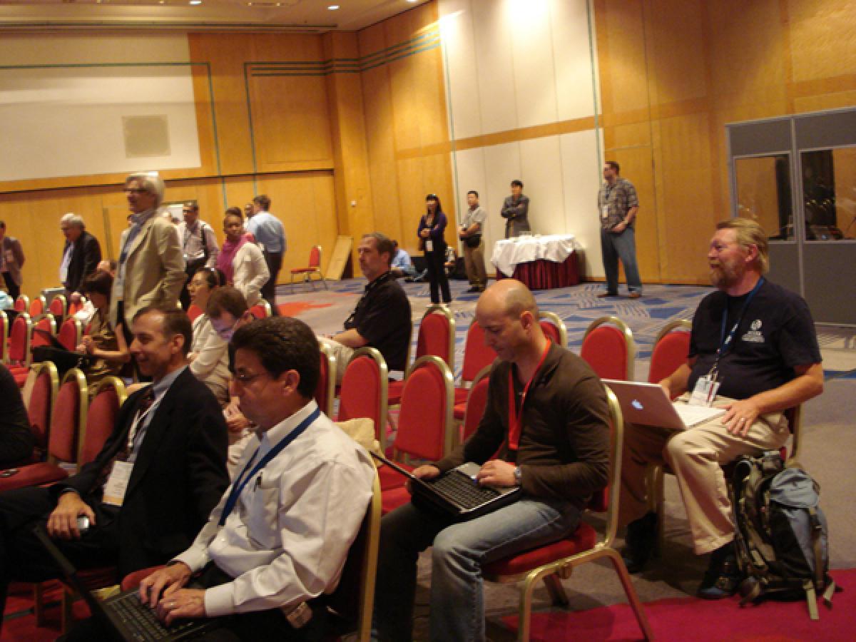Nunha xuntanza da ICANN en París