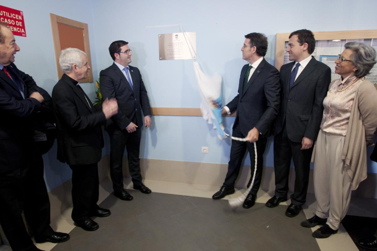 4 de marzo, residencia da Fundación San Rosendo na Cañiza