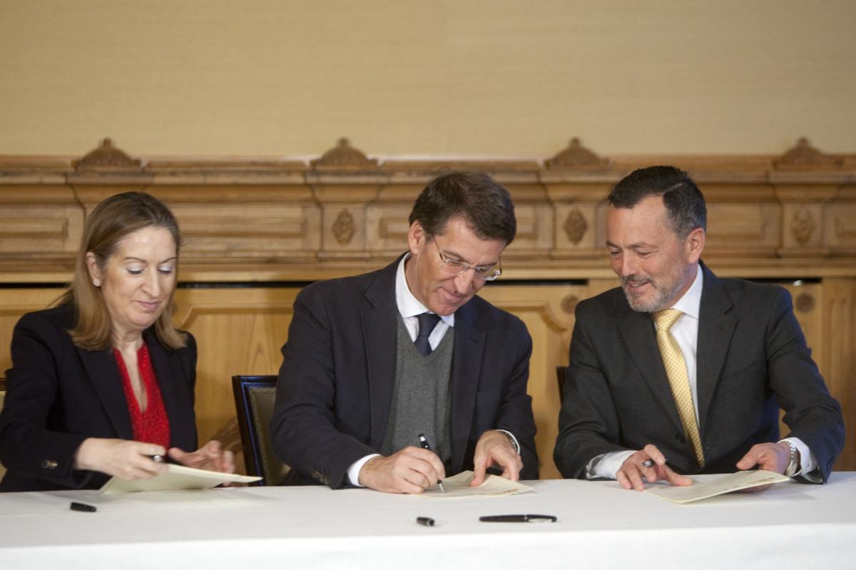 14 de marzo, convenios de rehabilitación de Fomento cos concellos