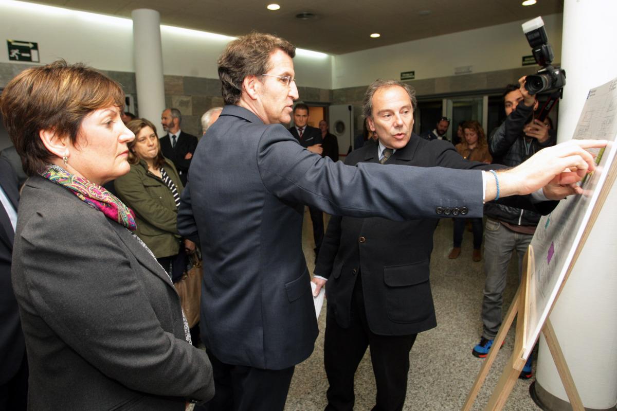 19 de marzo, obras do hospital do Salnés