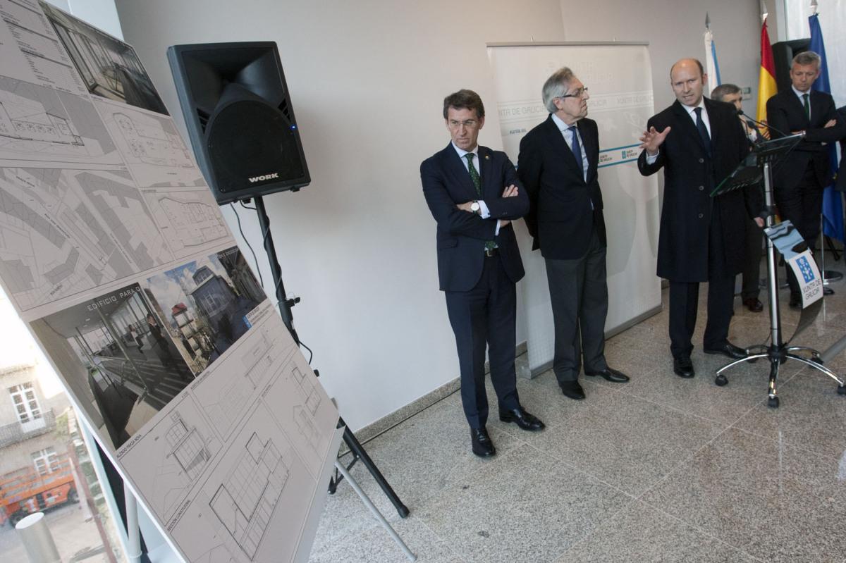 23 de marzo, edificio de notificacións e embargos en Vigo