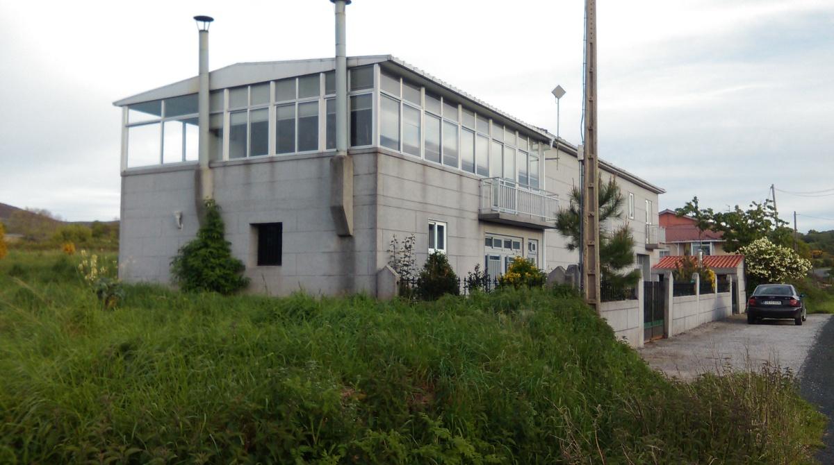 Casa de D. Antonio Alonso, colexio electoral dos veciños de Cexo