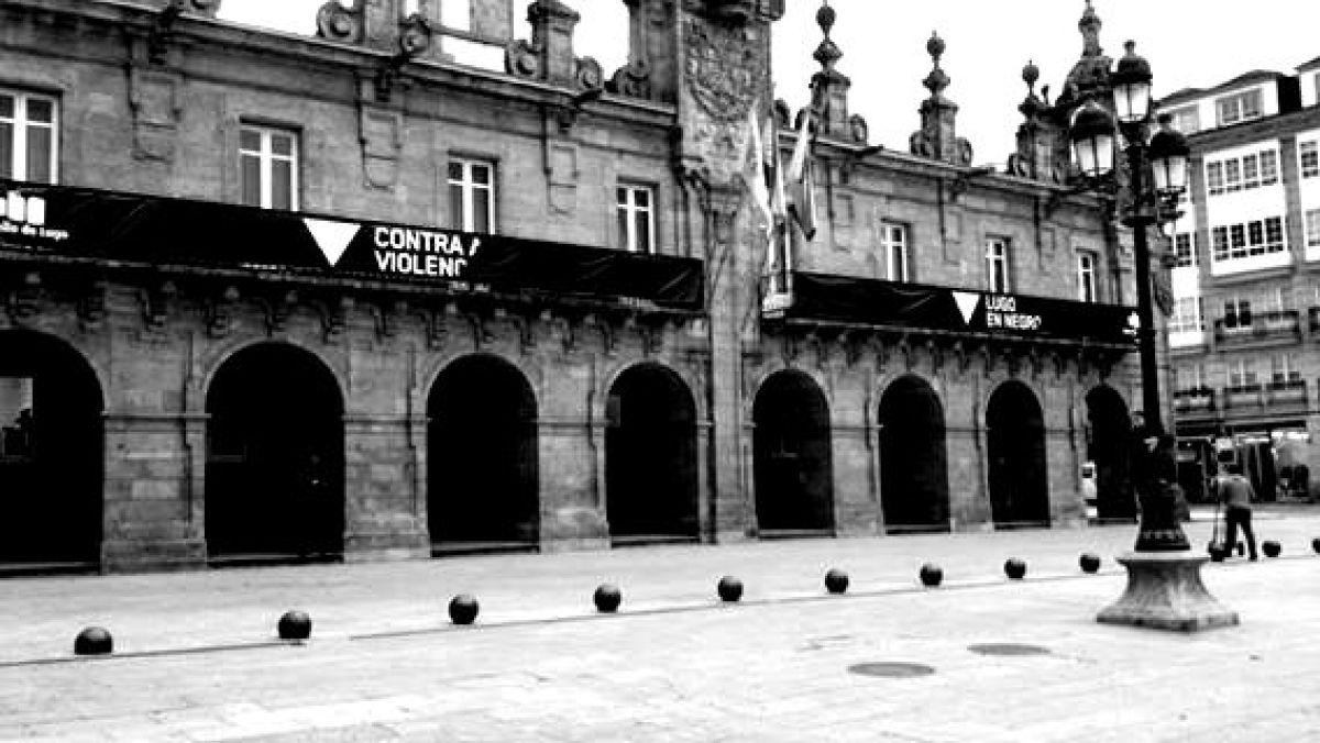 A fachada do Concello de Lugo