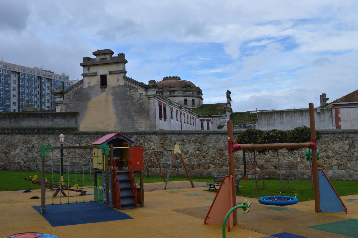 Exterior do antigo cárcere provincial da Coruña