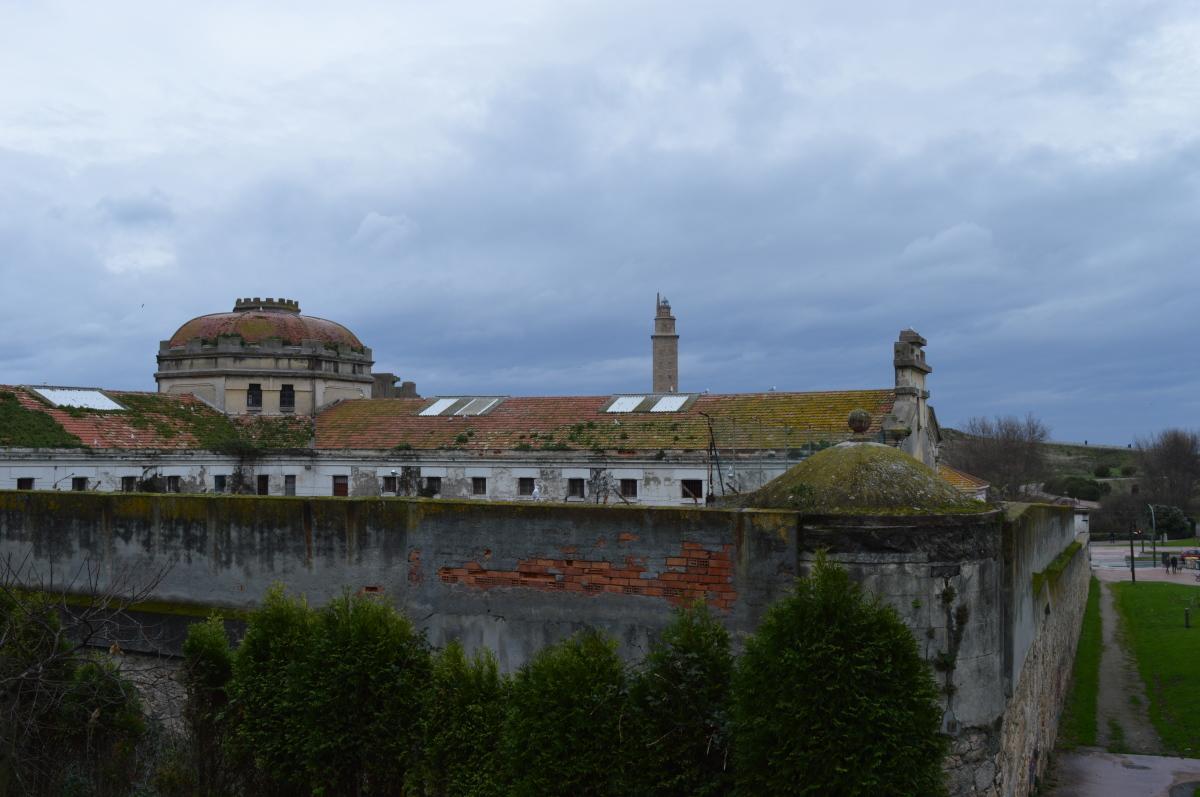 Exterior do cárcere