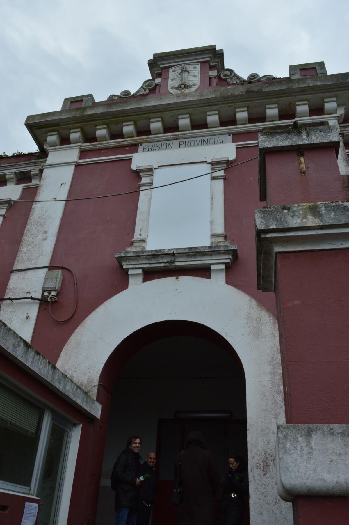Porta de entrada á vella prisión