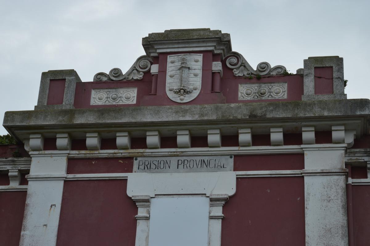 Un detalle da fachada