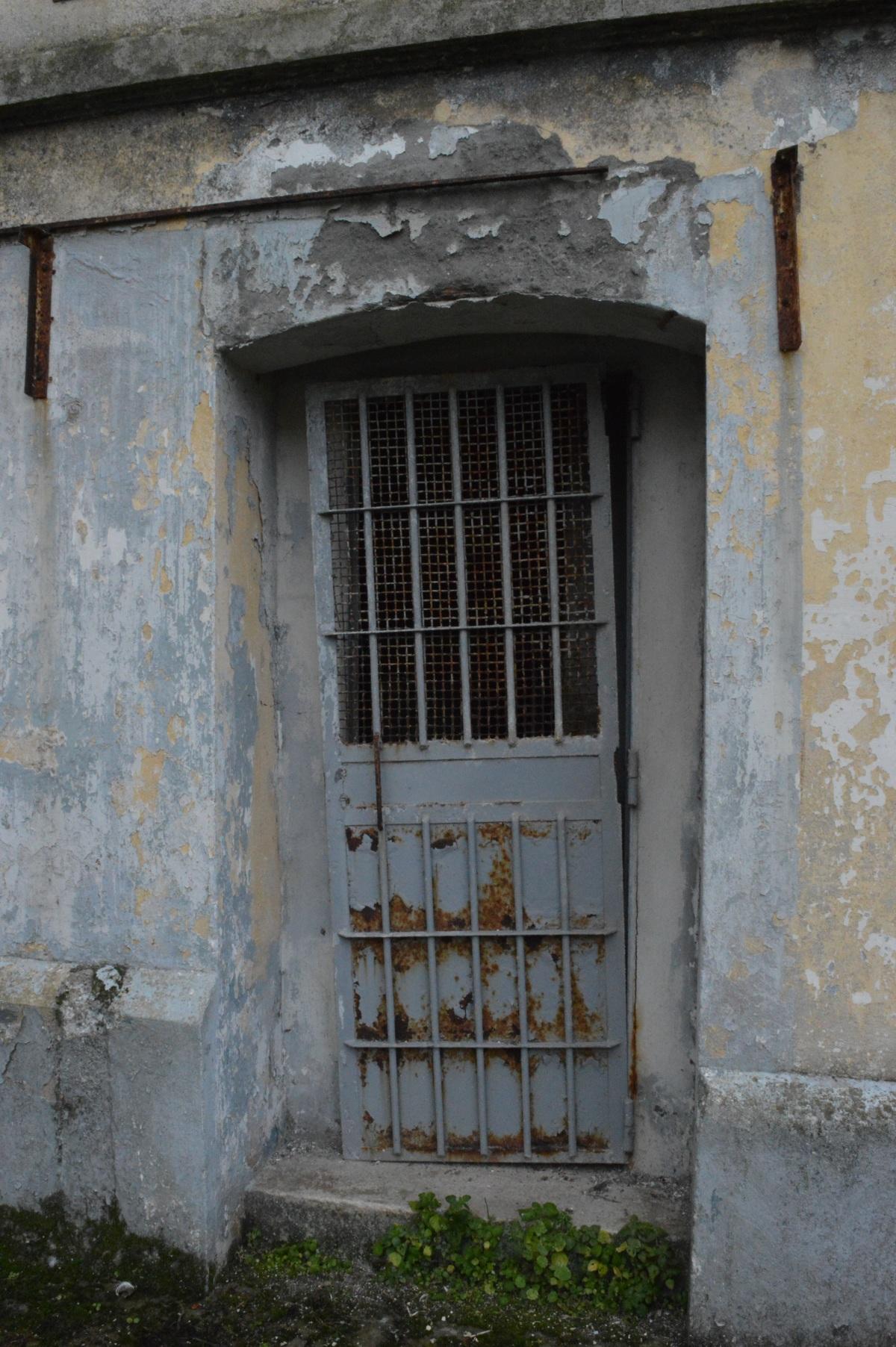 Detalle dunha porta