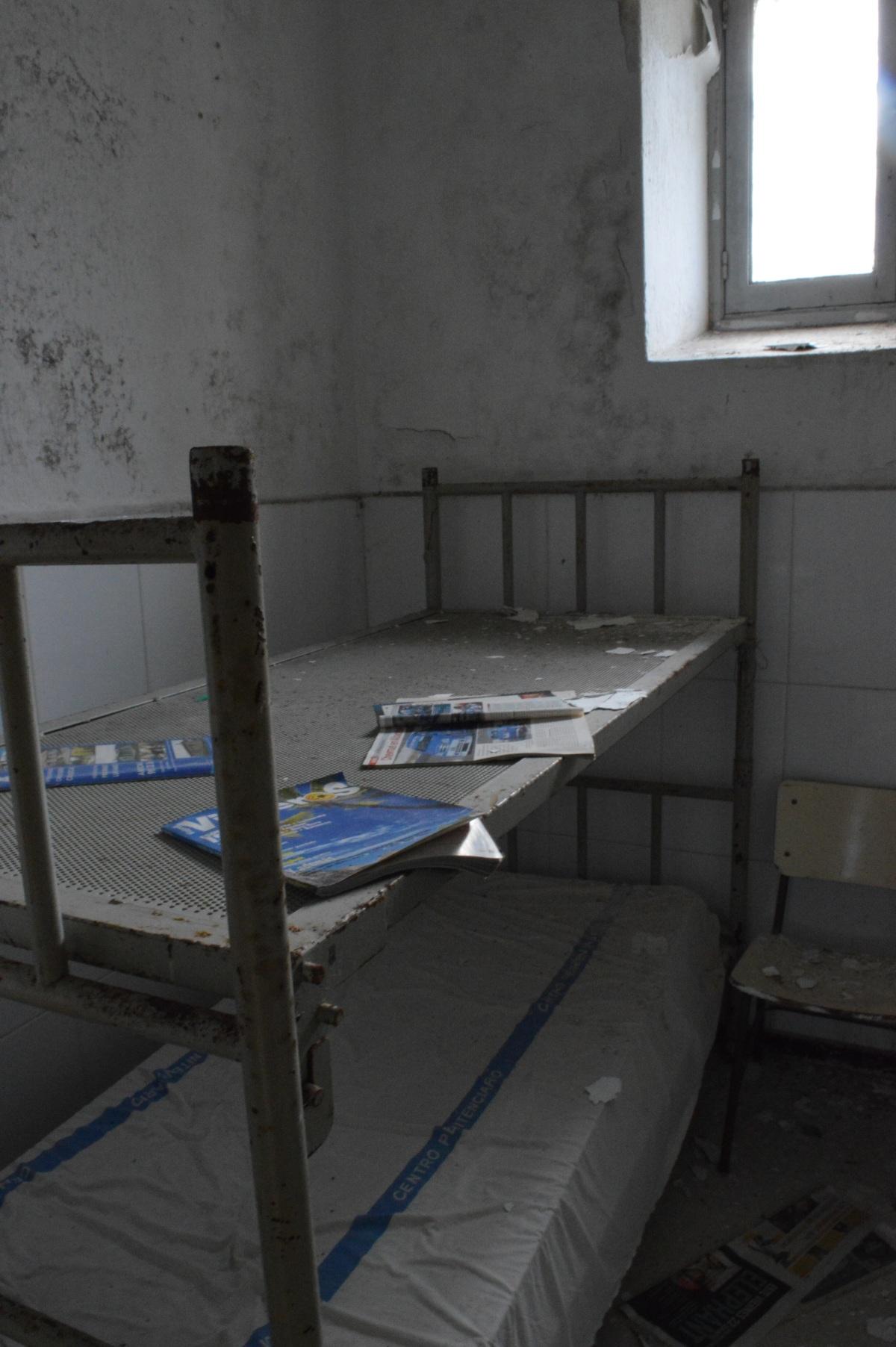 Interior dunha das celas