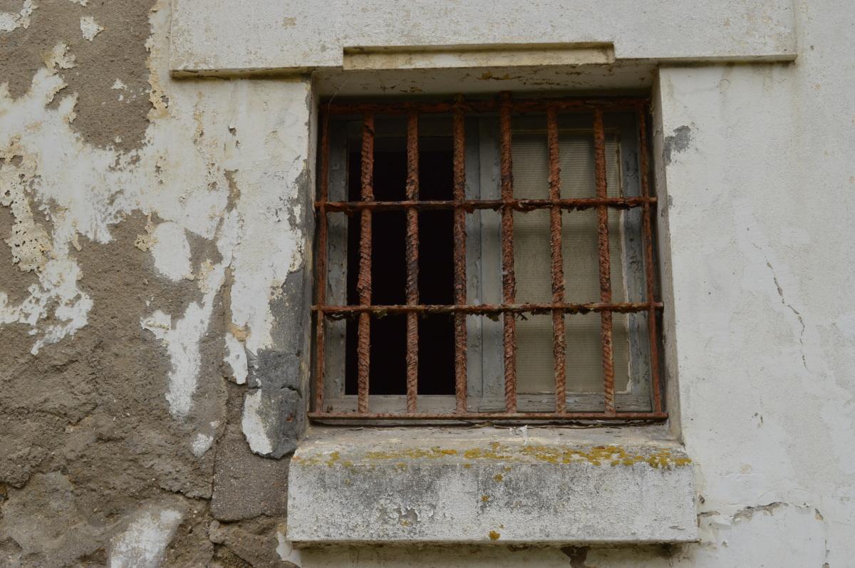 Detalle dunha fiestra