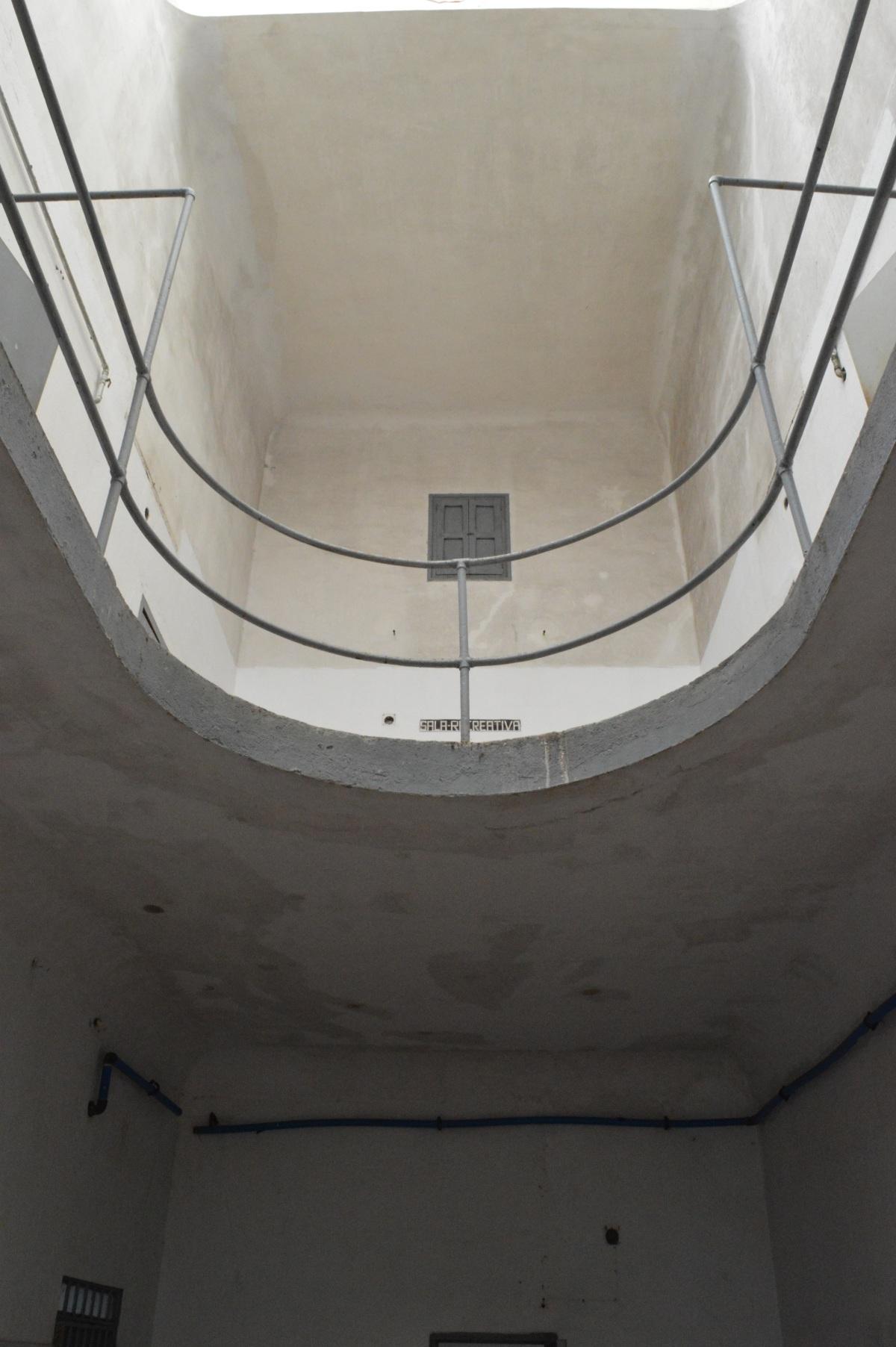 Interior do cárcere