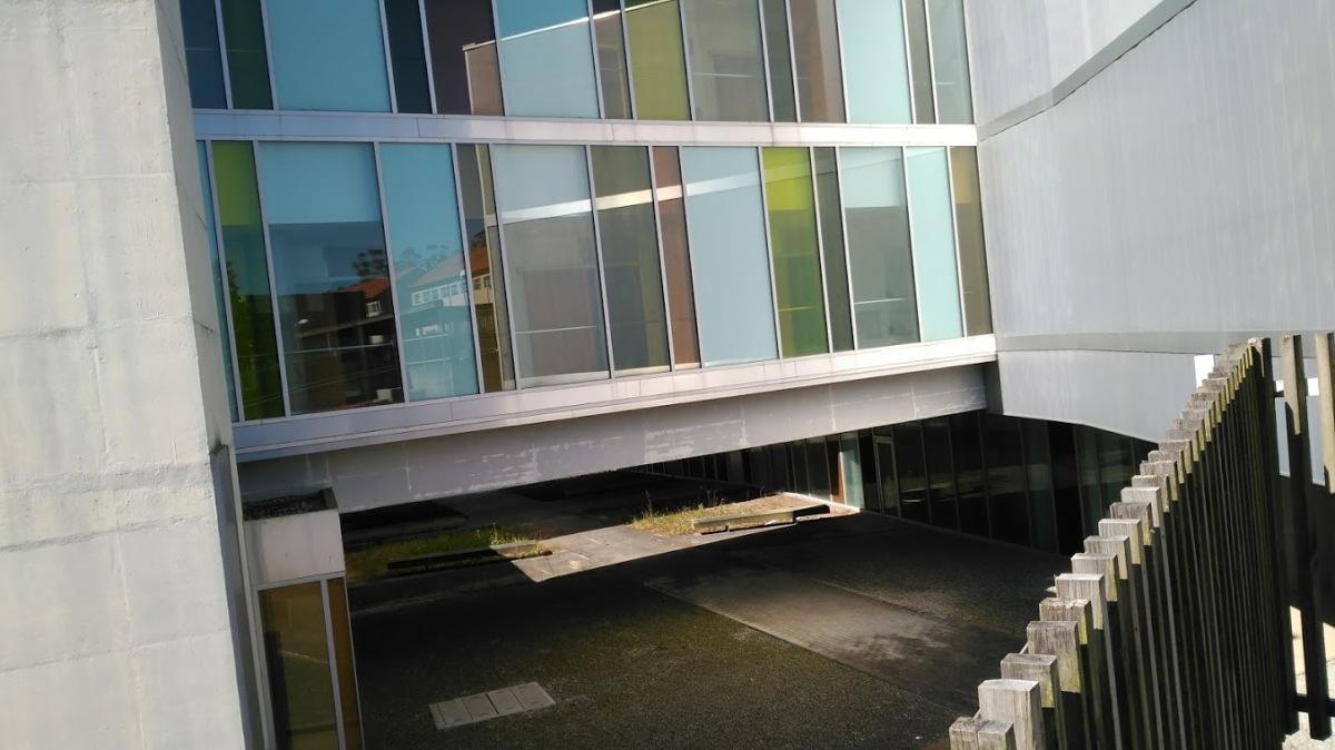 Patios interiores do edificio