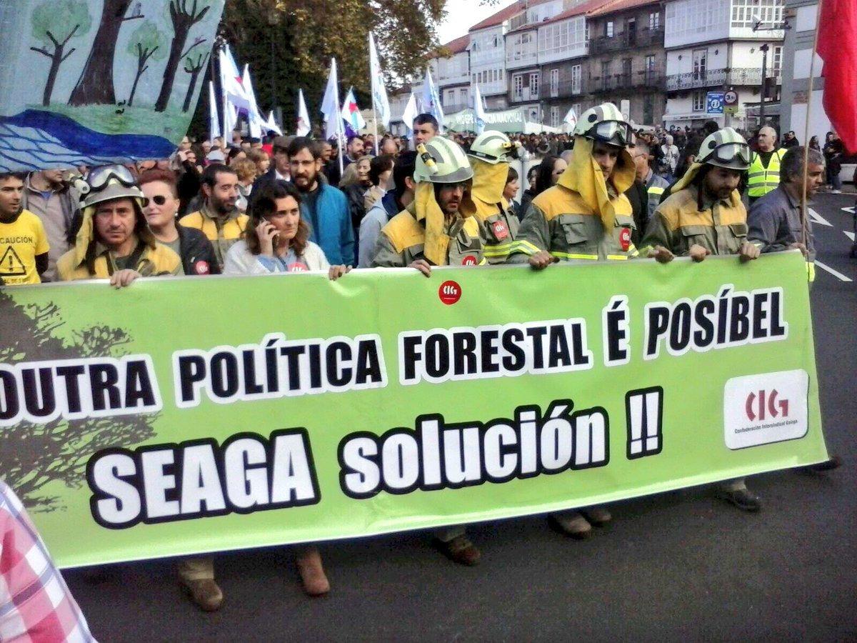 Faixa da CIG en demanda de solucións ás problemáticas laborais en Seaga