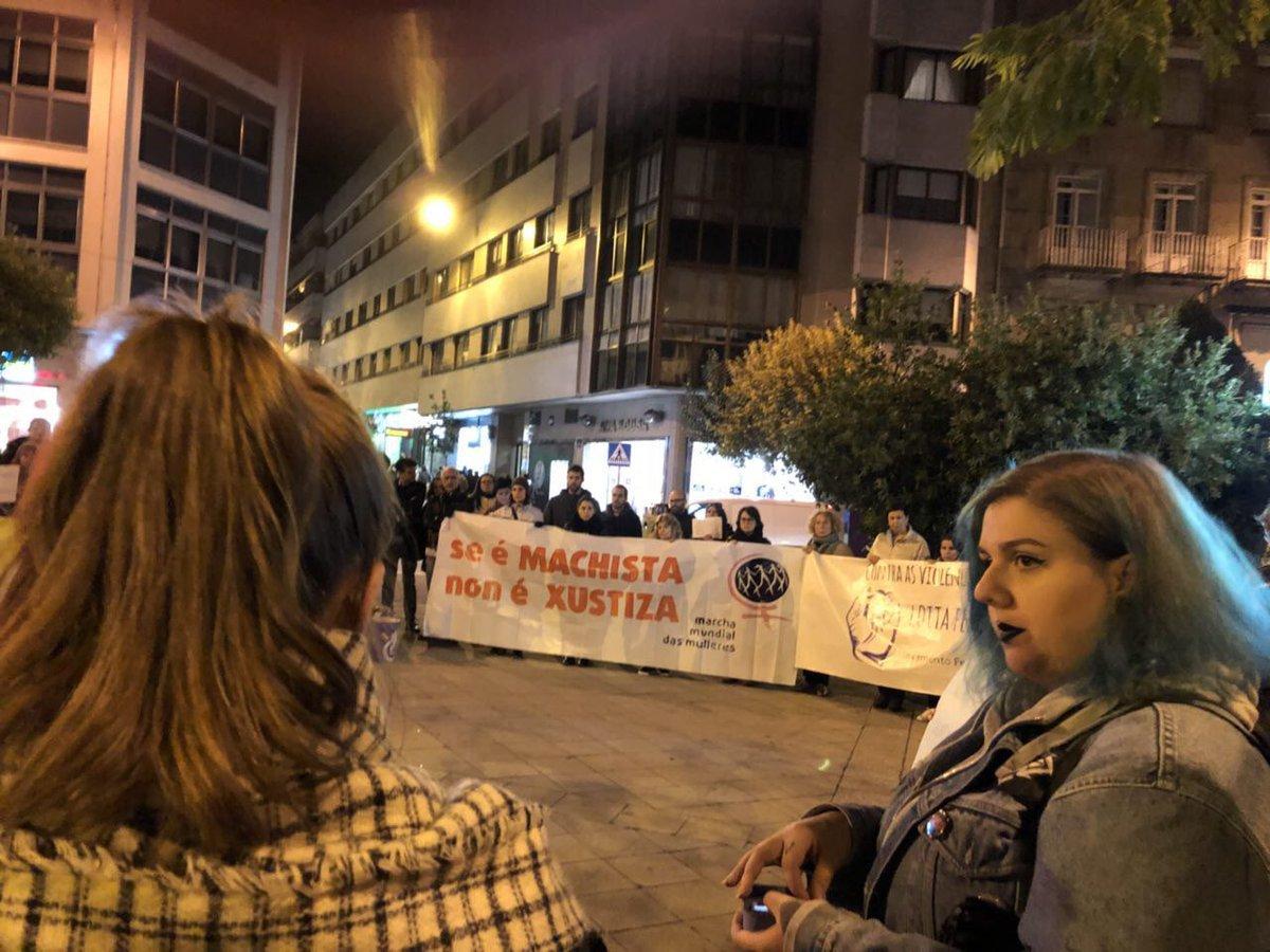 Mobilización en Ourense