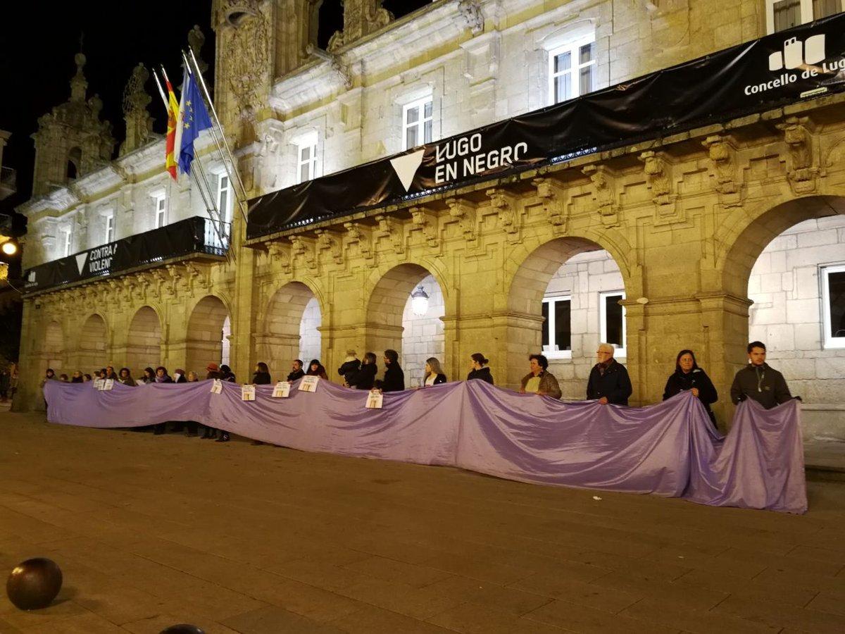 Mobilización en Lugo