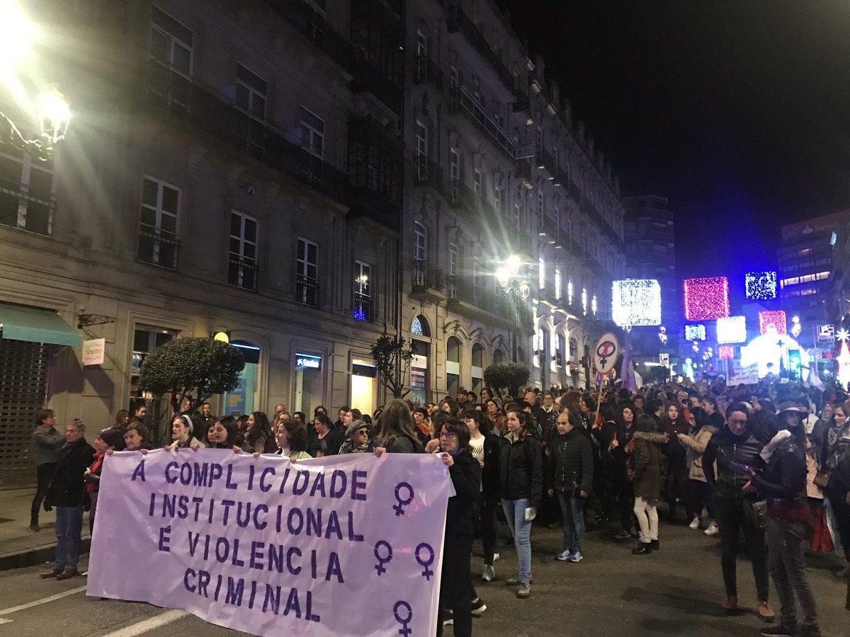 Manifestación en Lugo