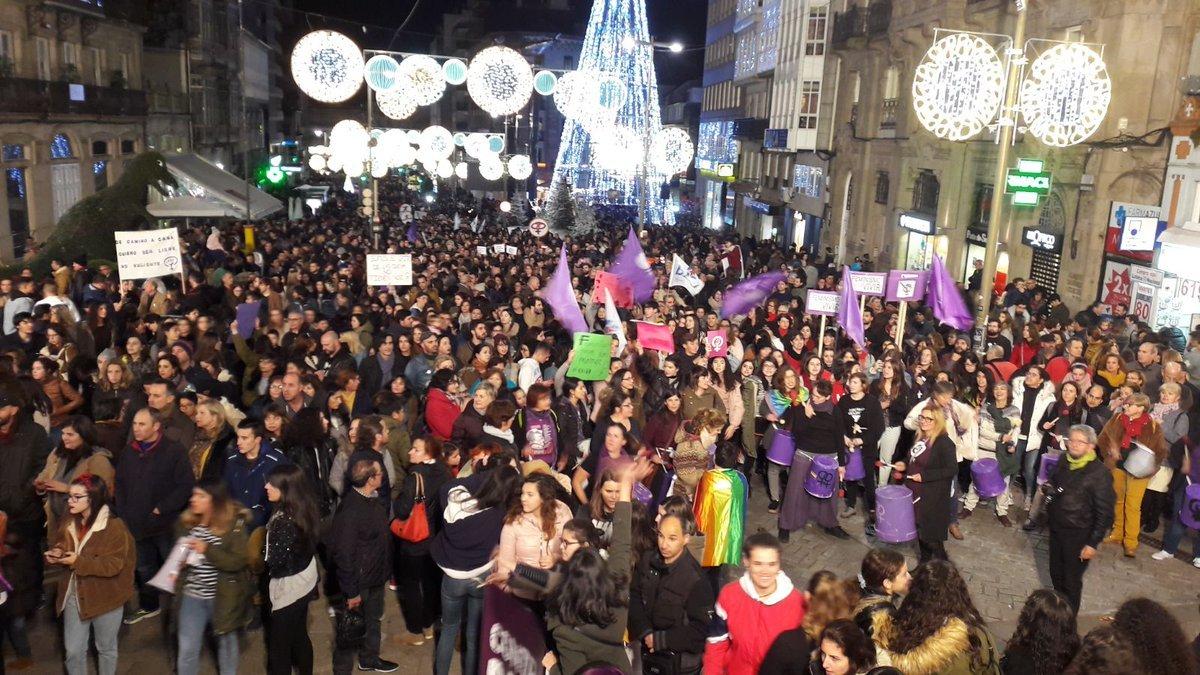 Remate da protesta en Vigo