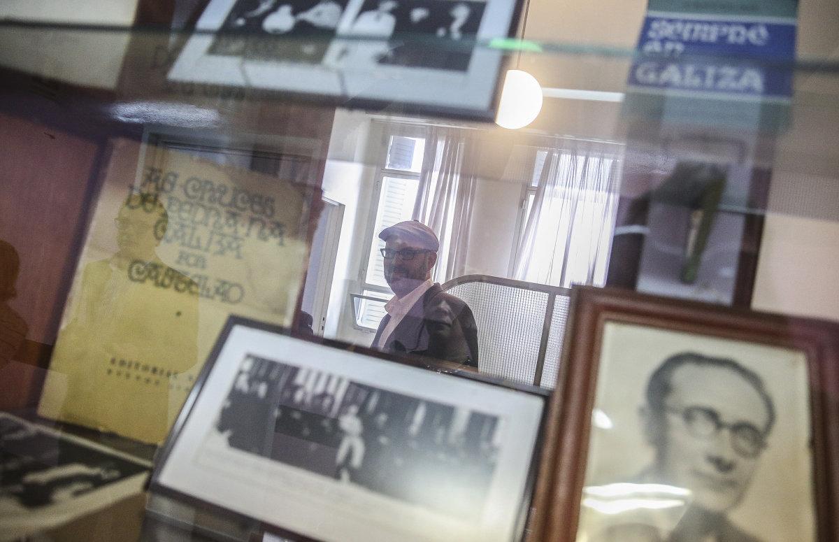Lembranzas de Castelao no Centro Gallego