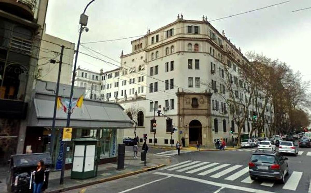 Edificio do Centro Gallego, na actualidade