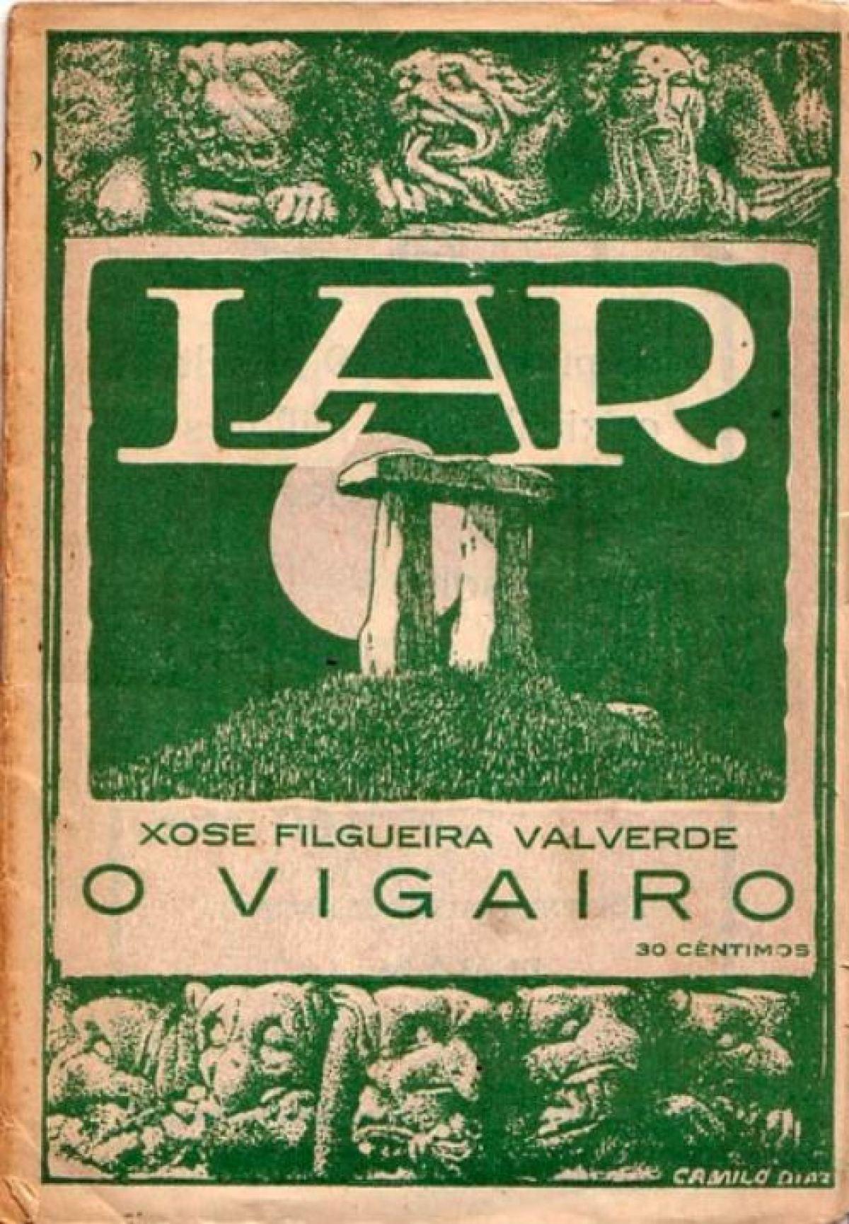 Cuberta da revista Lar, por Camilo Díaz Baliño